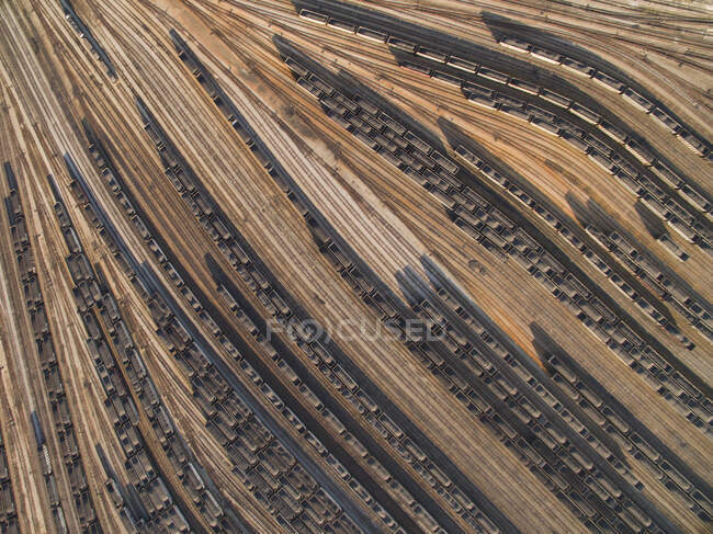 Coal Cars Coverage on Port in Virginia — Stock Photo