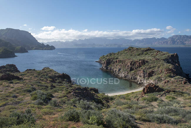 Isola Del Carmen a Loreto Bay, Baja California Sur, Messico. — Foto stock
