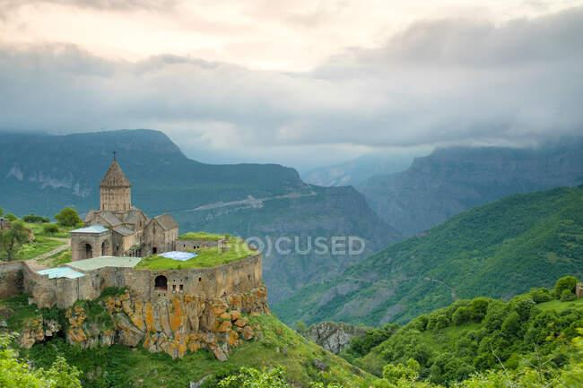 Монастирський комплекс Татев, провінція Сунік, Арменія. — стокове фото