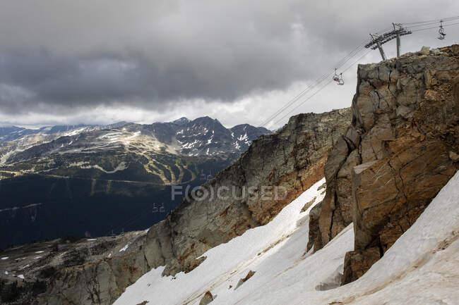 Bellissimo paesaggio montano nella Columbia Britannica, Canada — Foto stock