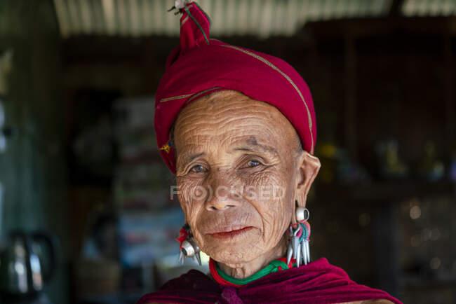 Каян Лахві - етнічні групи каїського народу. — стокове фото