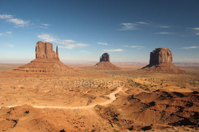 Monument Valley view — Stock Photo
