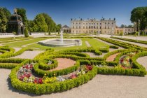 Garten des Palais Branicki, Bialystok, Polen — Stockfoto