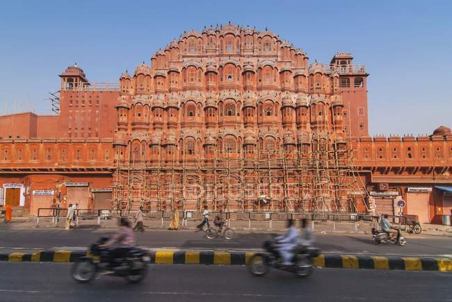 Palazzo dei venti a Jaipur, Rajasthan, India — Foto stock