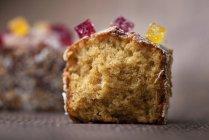 Nahaufnahme von Kuchen mit Marmeladendekoration — Stockfoto