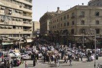 Belle epoque architecture of downtown Cairo, Egypt — Stock Photo