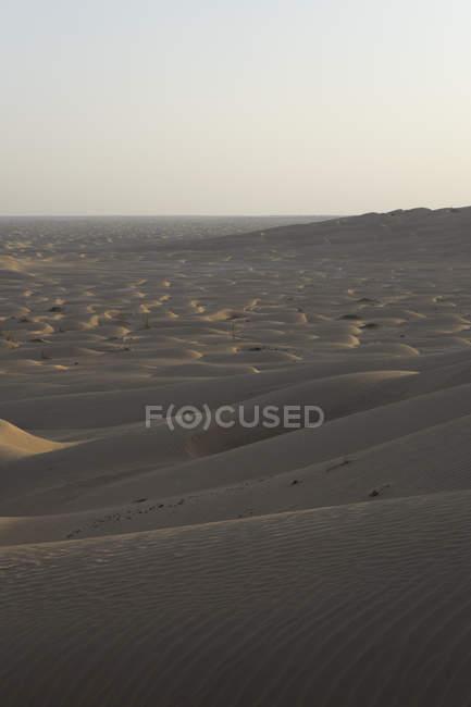 Deserto de dunas no bairro vazio, Omã — Fotografia de Stock