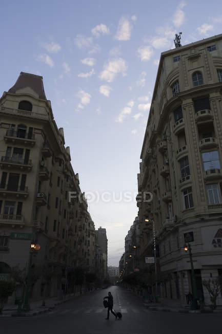 Architecture belle epoque du centre-ville du Caire, Egypte — Photo de stock