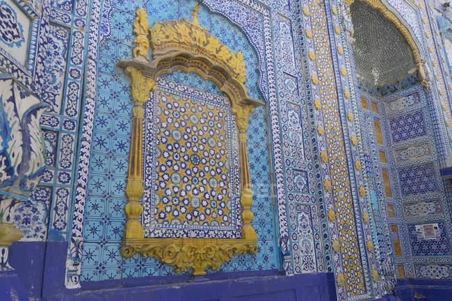 Dargah Hazrat Sachal Sarmast, Sindh — Stock Photo