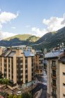 Andorra la Vella, capital city of Andorra, Andorra — Stock Photo