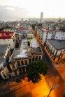 Aerial view of Cuba, Centro Havana — Stock Photo