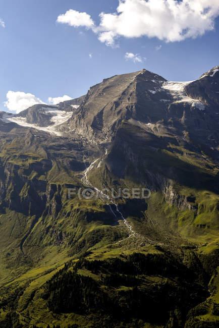 Ansicht der Rocky Mountains, Großglockner-Hochalpen-Straße, Österreich — Stockfoto
