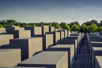 Monument to Murdered Jews of Europe, German — Stock Photo