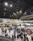 Commuters em Liverpool Street Station — Fotografia de Stock