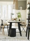 View of living room interior, selective focus — Stock Photo