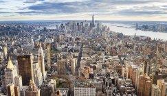 Luftaufnahme von Manhattan, New York City, USA — Stockfoto