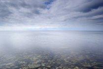 Vue panoramique sur la mer Baltique à Oland, Suède — Photo de stock