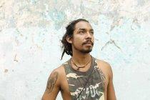 Ritratto di uomo in Guatemala, attenzione al primo piano — Foto stock
