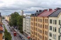Cityscape di Stoccolma, Svezia, focus selettivo — Foto stock