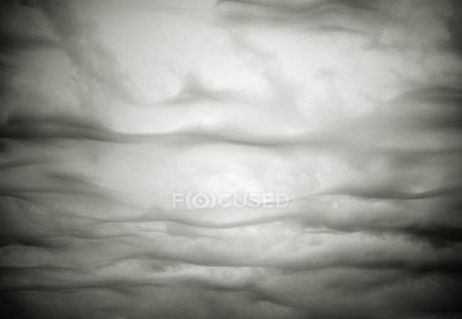 Full frame of grey storm clouds — Stock Photo