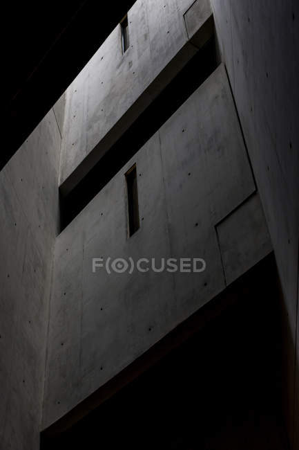 Low angle view of Jewish Museum facade in Berlin — Stock Photo
