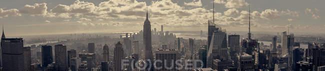 Paesaggio urbano di New York City, scena urbana — Foto stock