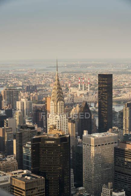Cidade de Nova York, cena urbana — Fotografia de Stock