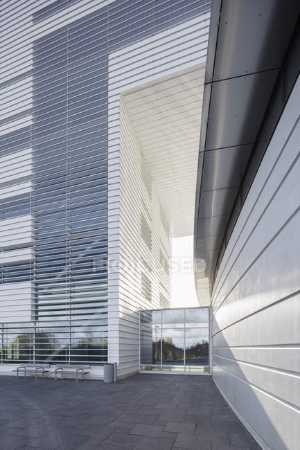 Modern building of Max IV laboratory, northern europe — Stock Photo