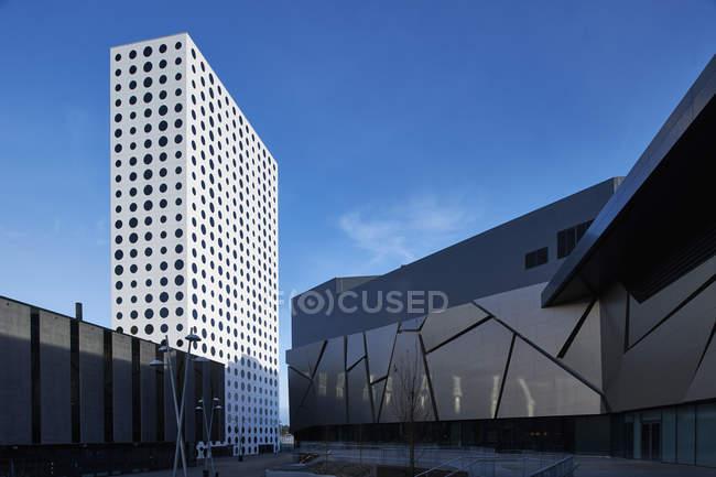 Modern architecture of Scandinavia in Solna, Sweden — Stock Photo