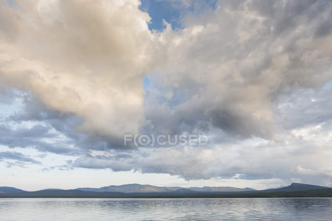 Scenic view of lake in Jamtland, Sweden — Stock Photo