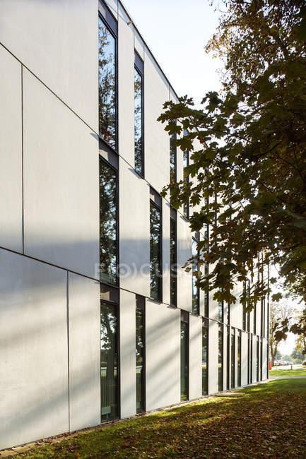 Modern building in Lund, Sweden — Stock Photo