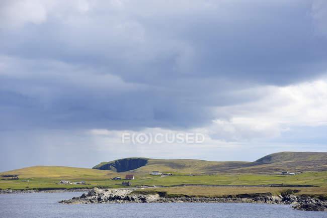 Плато трава моря в Западной Европе — стоковое фото