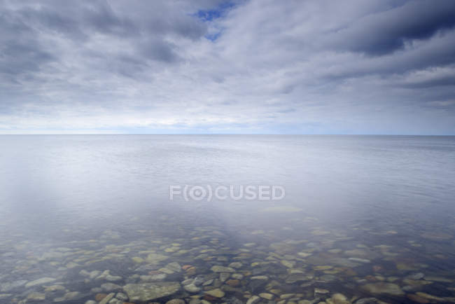Scenic view of Baltic Sea in Oland, Sweden — Stock Photo