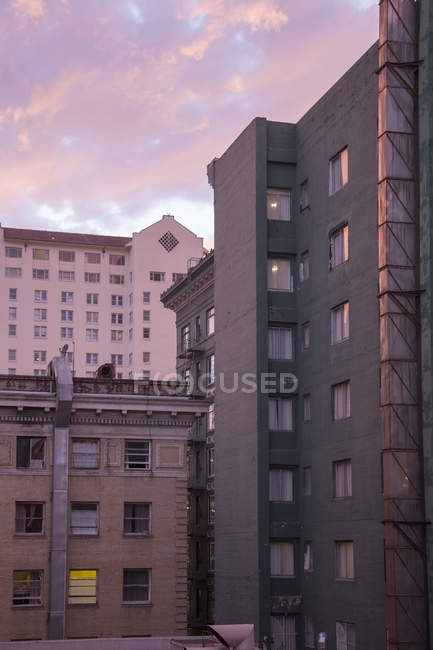 Palazzine a San Francisco, California — Foto stock