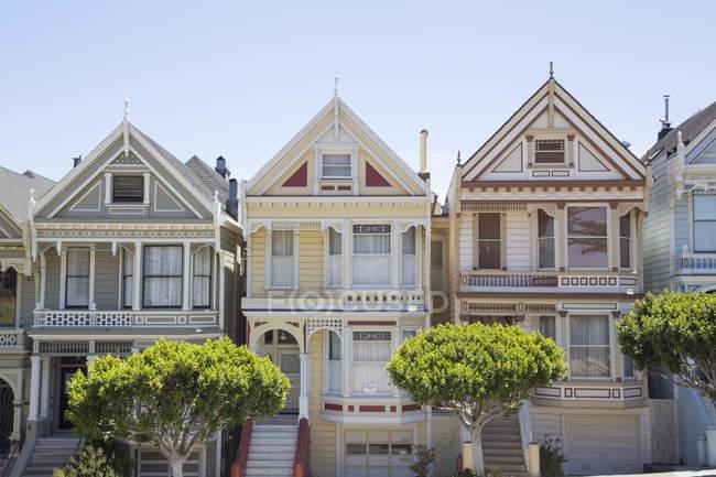 Houses in San Francisco, California — Stock Photo