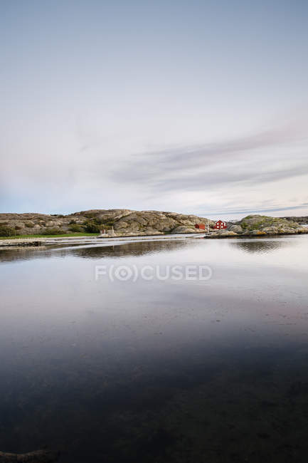 Vista panoramica della costa di Bohuslan, Svezia — Foto stock