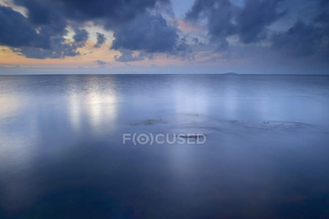 Clouds above Baltic Sea on Oland, Sweden — Stock Photo