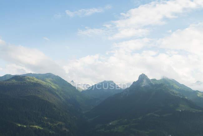 Gebirge in Vorarlberg, Österreich — Stockfoto