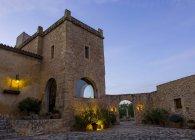 Finca, evening, Mallorca, Spain — Stock Photo