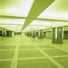 Empty subway station, Tokyo, Japan — Stock Photo