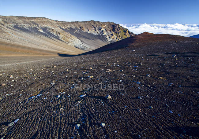 Paysage volcanique sur Hawaii pendant la journée — Photo de stock
