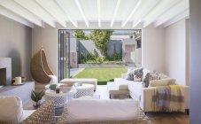 Interior of Luxury living room — Stock Photo