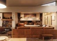 Home vetrina interno soggiorno — Foto stock