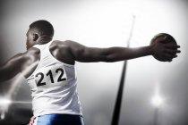 Лёгкая атлетика — стоковое фото