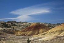 Vue sur les collines peintes en Oregon — Photo de stock