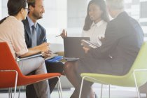 Business people having meeting in office building — Stock Photo