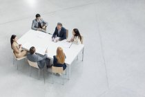 Business people meeting at table — Stock Photo