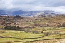 Paisagem vista da zona Rural durante o dia — Fotografia de Stock