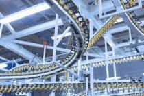 Enroulement de bandes transporteuses imprimerie frais généraux — Photo de stock