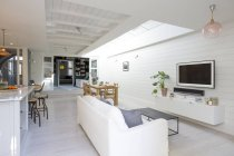 Luxus-Haus Vitrine Wohnzimmer — Stockfoto